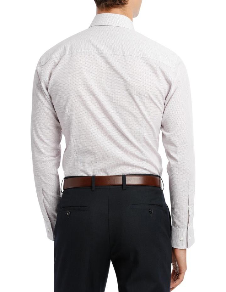 Black Diagonal Jacquard Business Shirt image 3