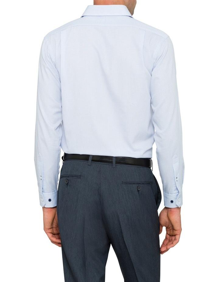 Euro Blue Minicheck Business Shirt Vlem103Z_Ccsb image 3