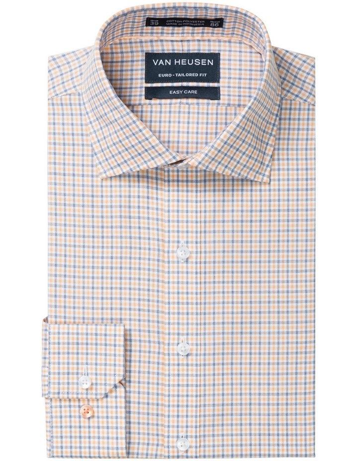 83564088a82 Tangerine   Black Check Business Shirt image 1