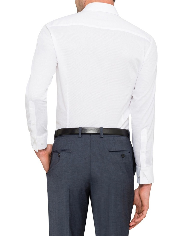 Pierre Cardin White Dobby Business Shirt image 2