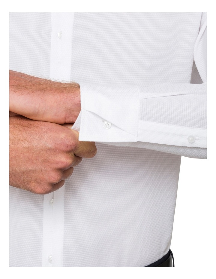 Pierre Cardin White Dobby Business Shirt image 3