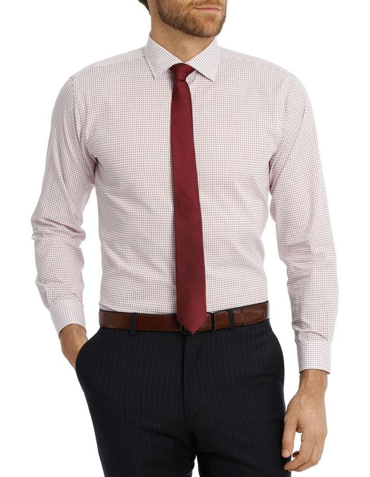 Red spot business shirt image 1