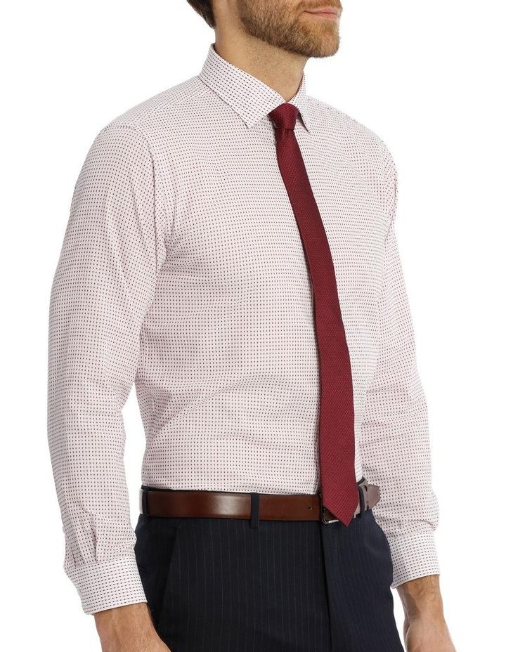 Red spot business shirt image 2