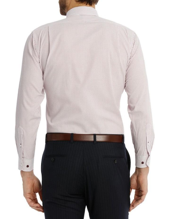 Red spot business shirt image 3