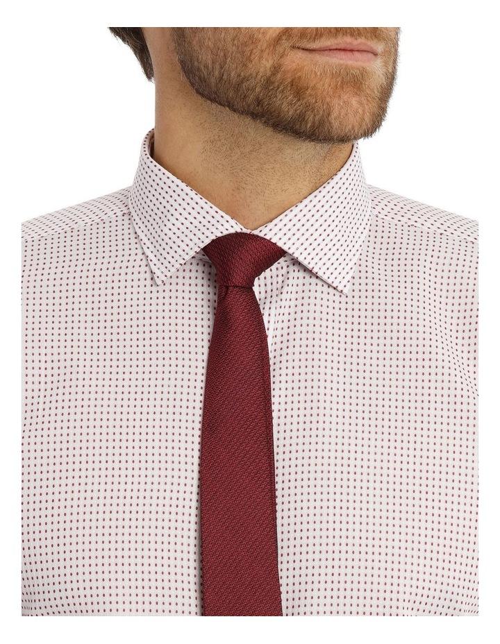 Red spot business shirt image 4