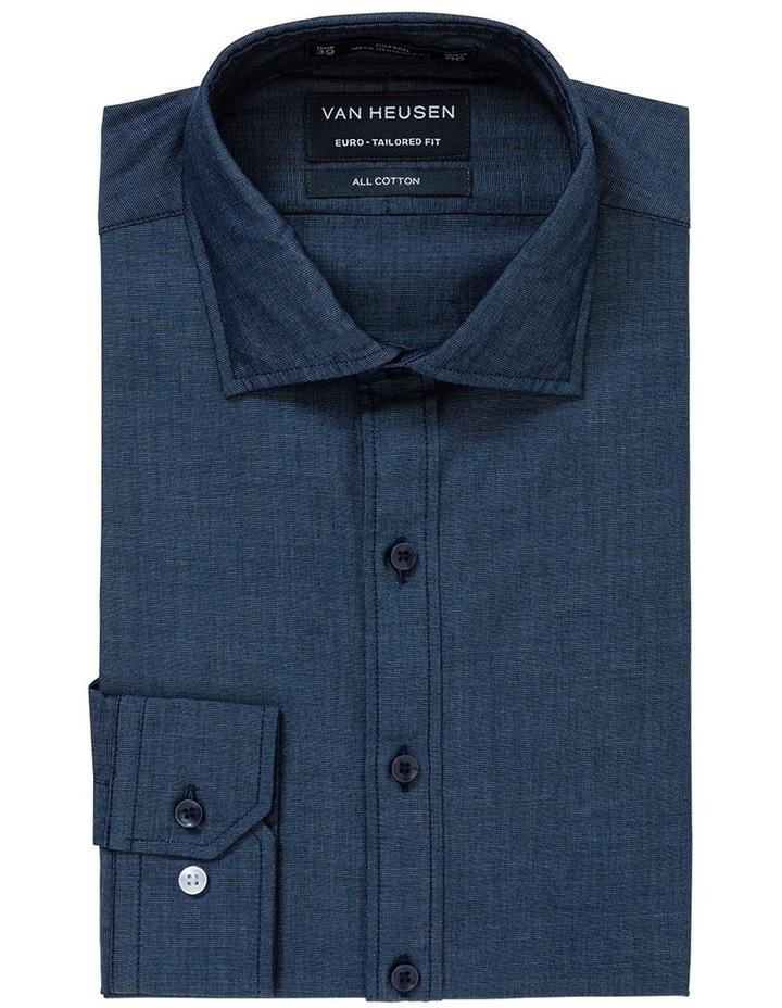 Washed Indigo End on End Business Shirt image 1