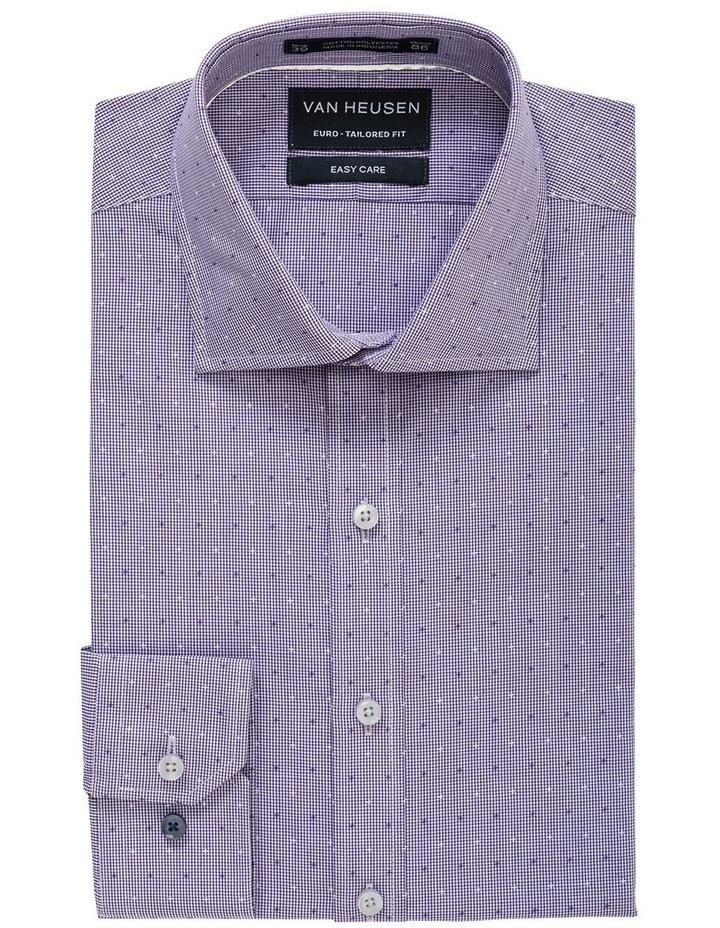 Mauve Dobby Star Business Shirt image 1