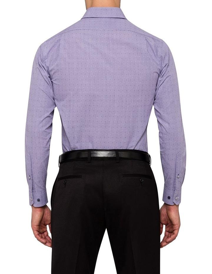 Mauve Dobby Star Business Shirt image 3