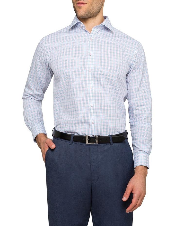 Pink & Sky Check Business Shirt image 2