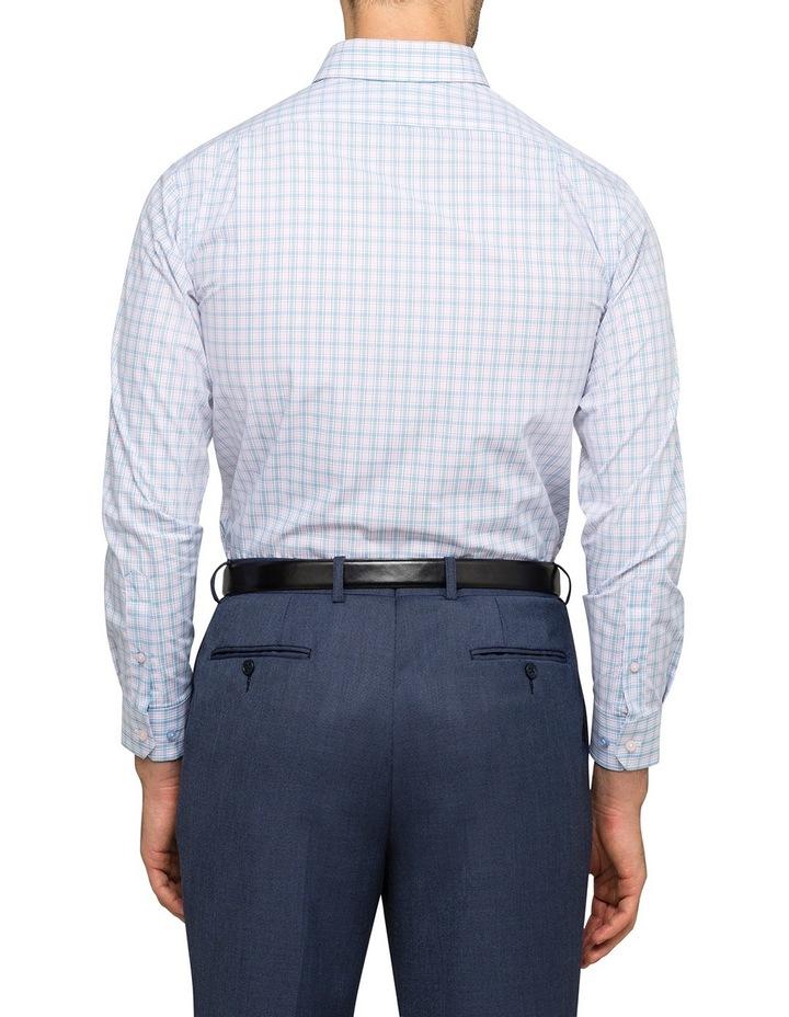 Pink & Sky Check Business Shirt image 3