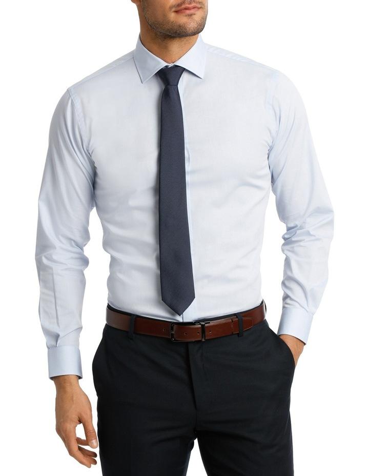 Blue Oxford Business Shirt EURO VLEMX12Z_BCSB image 1