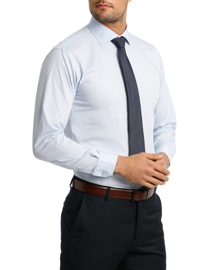 Blue Oxford Business Shirt EURO VLEMX12Z_BCSB image 2