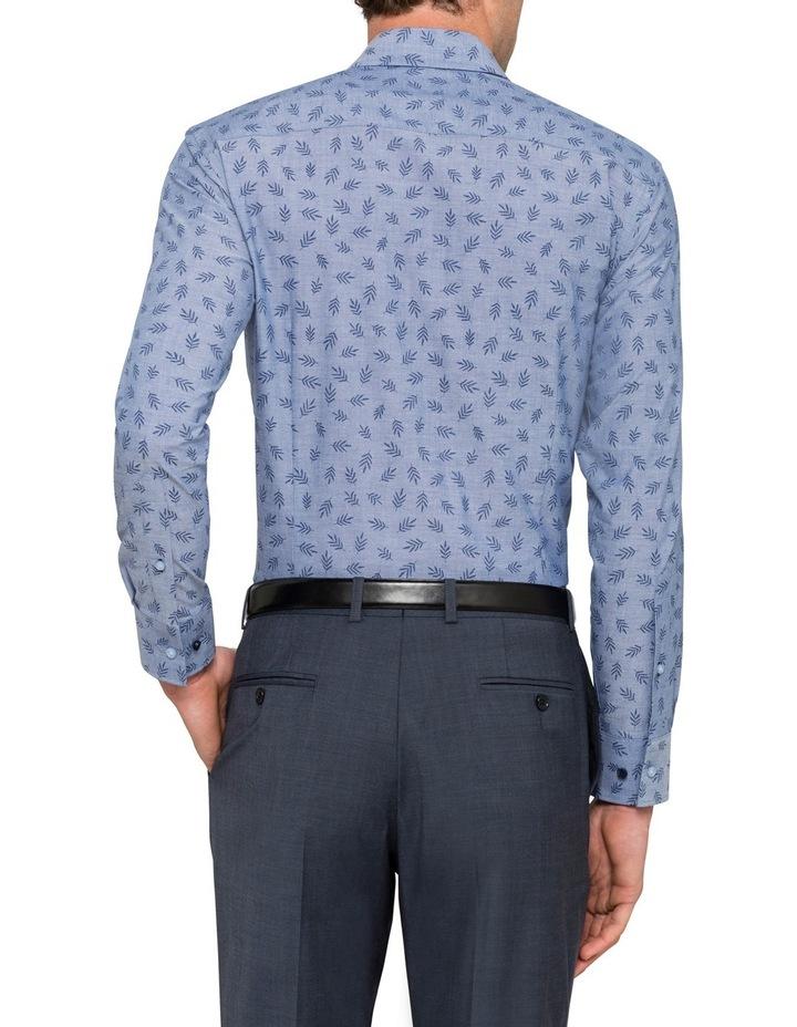 Blue Leaf Dobby Business Shirt image 2