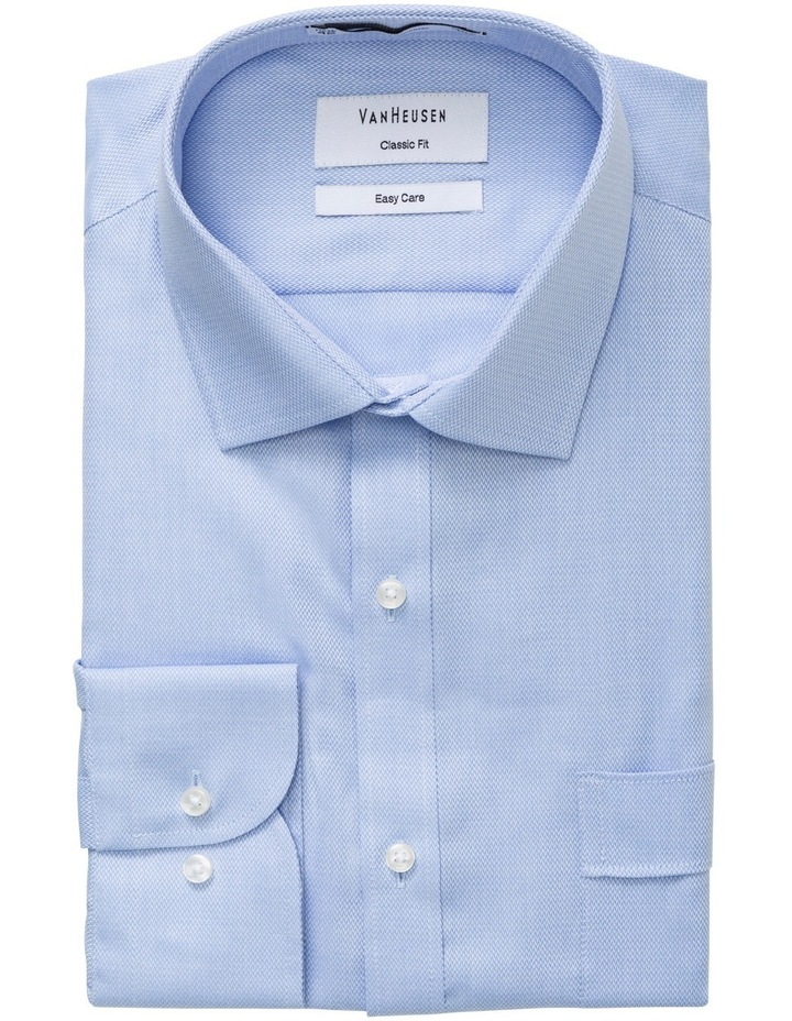 Light Blue Nail Head Business Shirt image 1