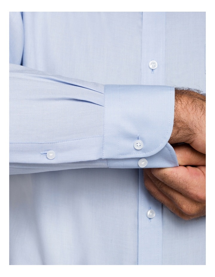 Light Blue Nail Head Business Shirt image 4