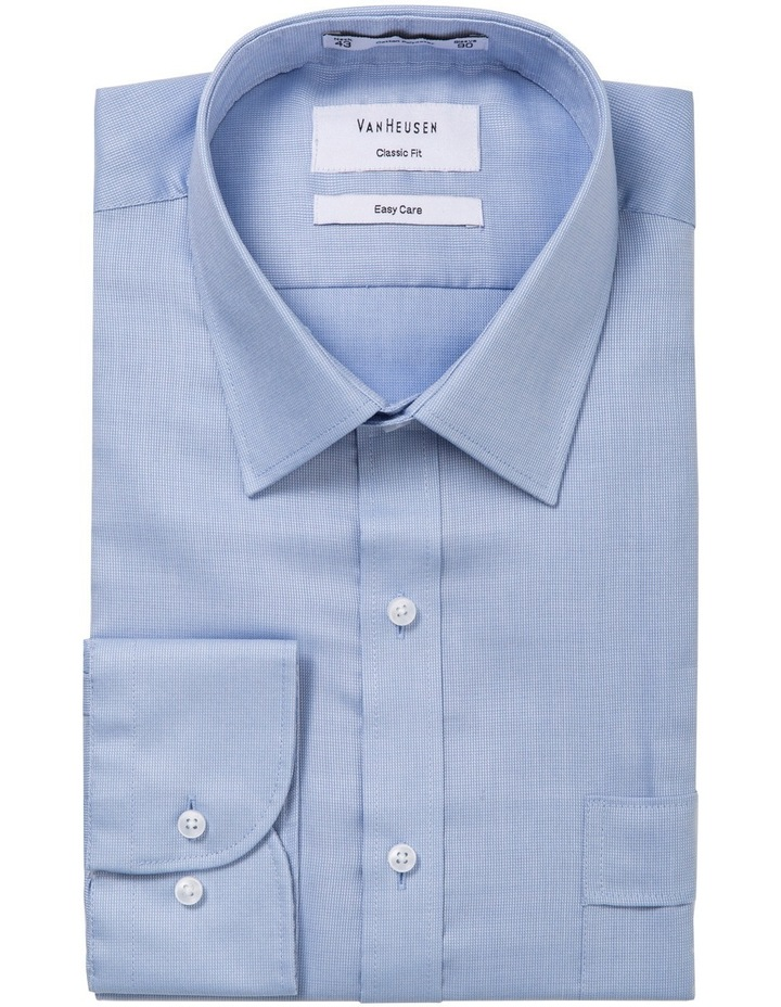 Light Blue Nail Head Business Shirt image 5
