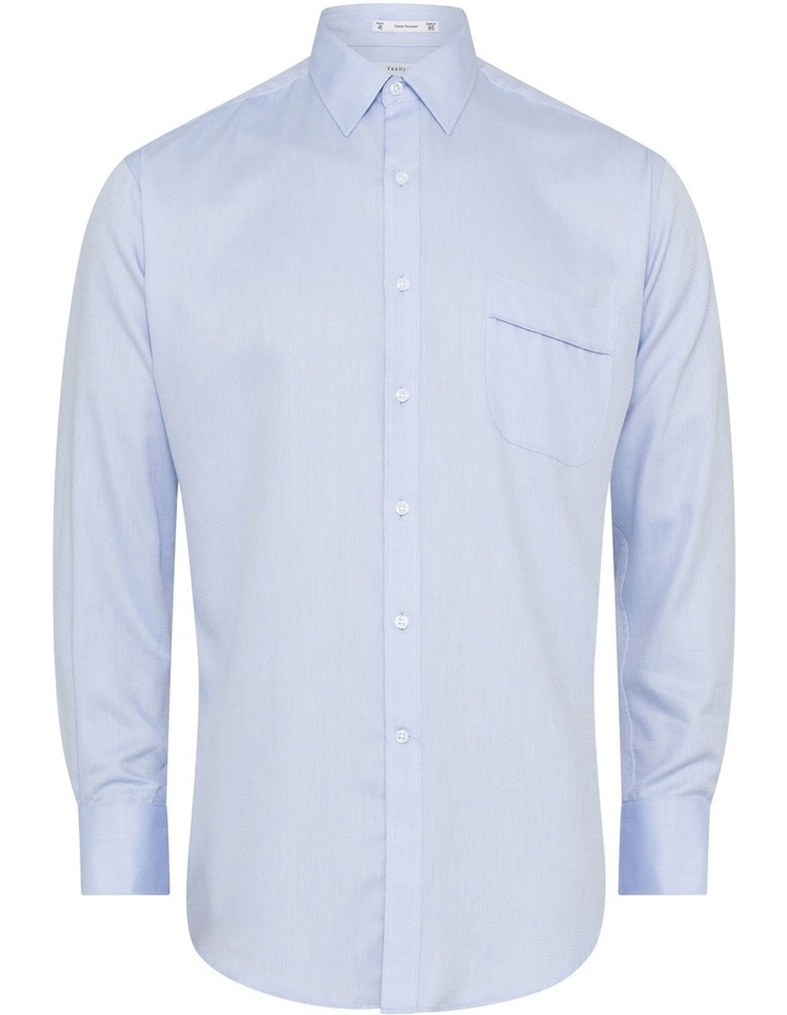 Light Blue Nail Head Business Shirt image 6