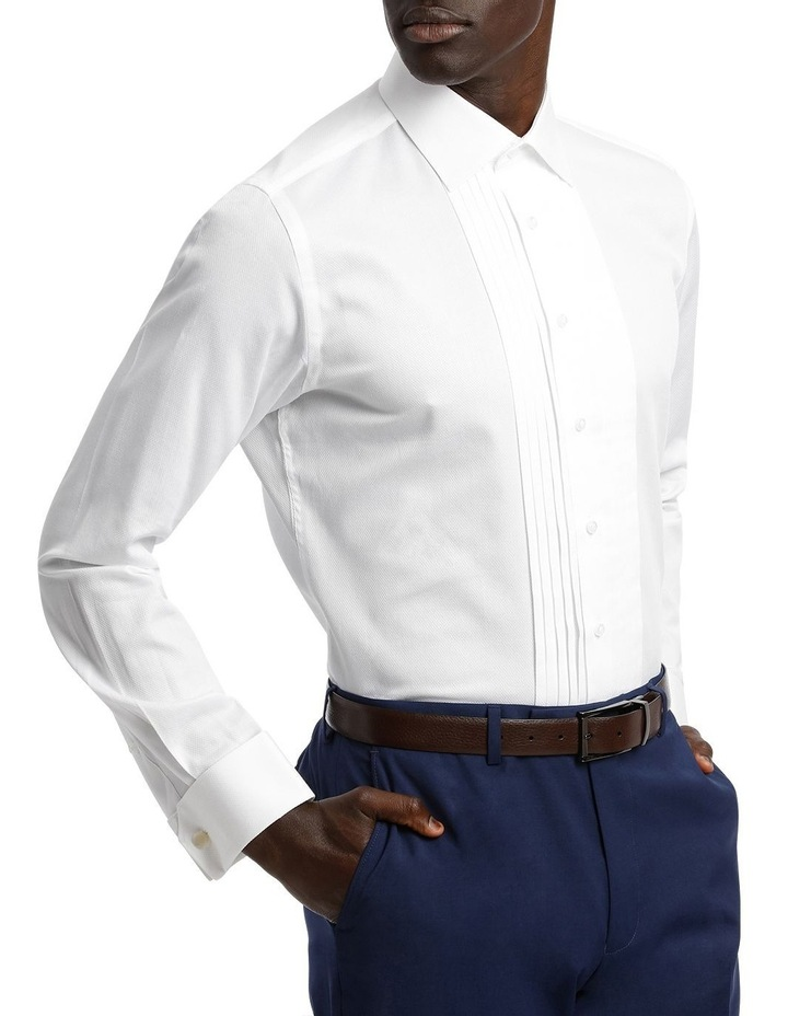 Marcella Fly Front Cotton DC Dinner Shirt image 2