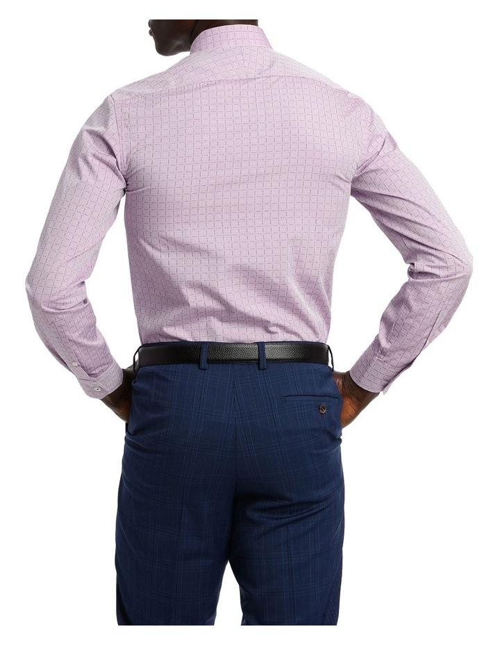 Lilac Career Grid Dobby Business Shirt image 3