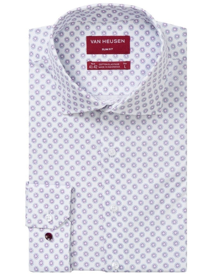 JAPANESE FLORAL PRINT BUSINESS SHIRT image 1