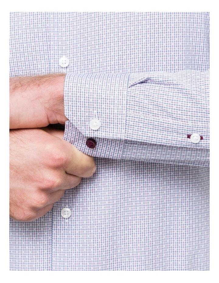 Dobby Check Business Shirt image 4