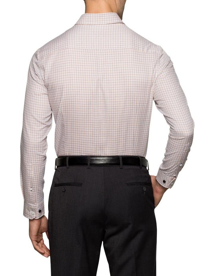 WHITE GROUND CHECK BUSINESS SHIRT image 3