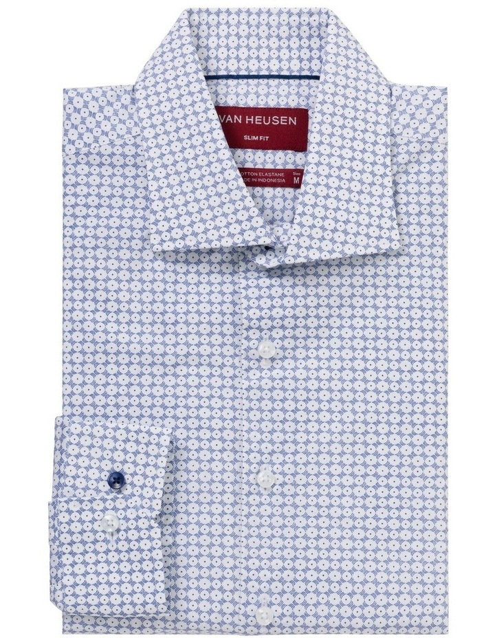 CIRCLE PRINT BUSINESS SHIRT image 1