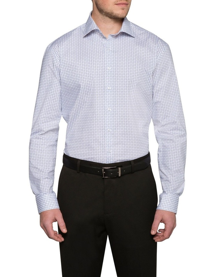 CIRCLE PRINT BUSINESS SHIRT image 2