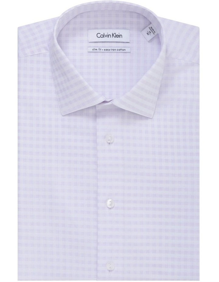 Check Jacquard Business Shirt image 1
