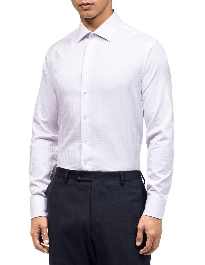 Check Jacquard Business Shirt image 2