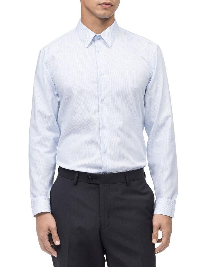 Stripe Base With Overdobby Business Shirt image 1