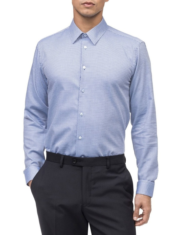 ALL OVER JACQUARD BUSINESS SHIRT image 1