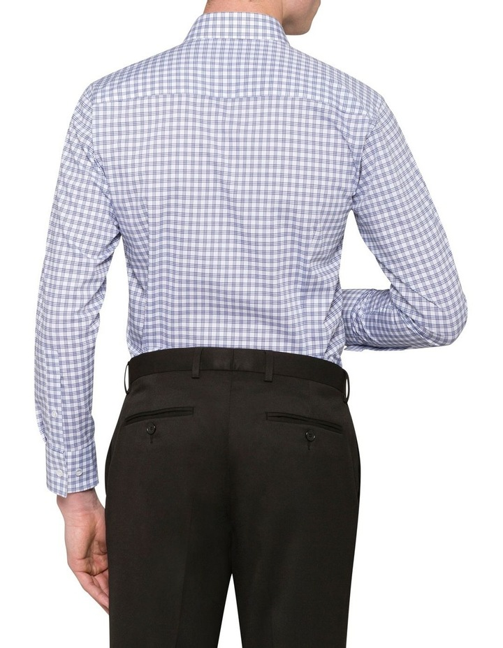WHITE GROUND CHECK BUSINESS SHIRT image 2