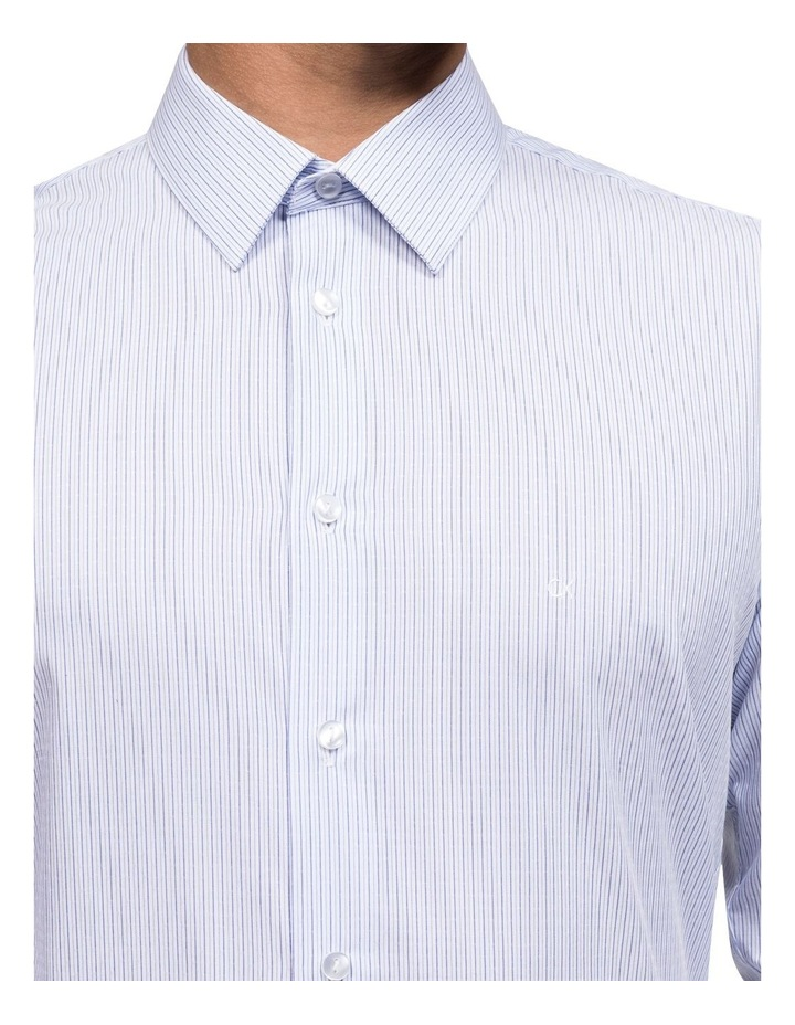 STRIPE WITH DOBBY BUSINESS SHIRT image 3