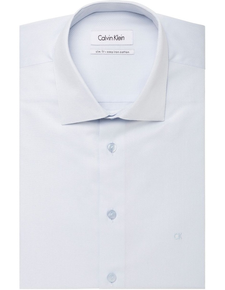 Diamond Self Dobby Organic Cotton Business Shirt image 1