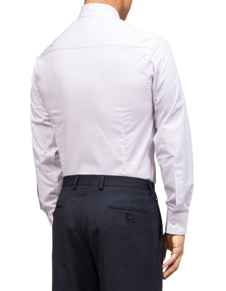 DIAGONAL STRIPE DOBBY BUSINESS SHIRT image 3