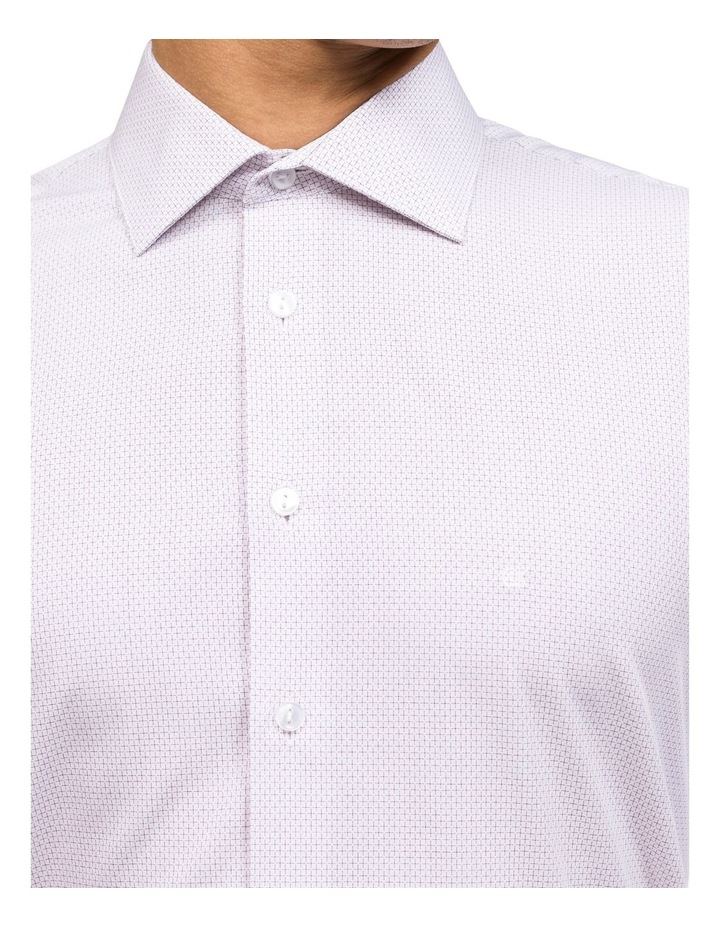DIAGONAL STRIPE DOBBY BUSINESS SHIRT image 4