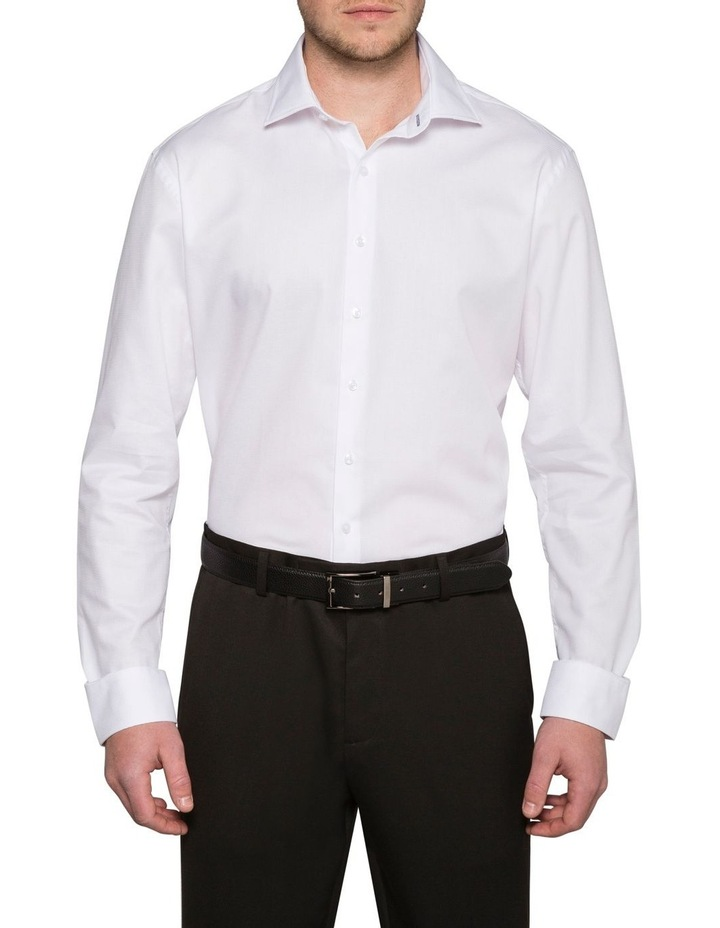 Self Jacquard Business Shirt image 1