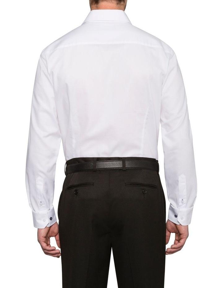 Self Jacquard Business Shirt image 2