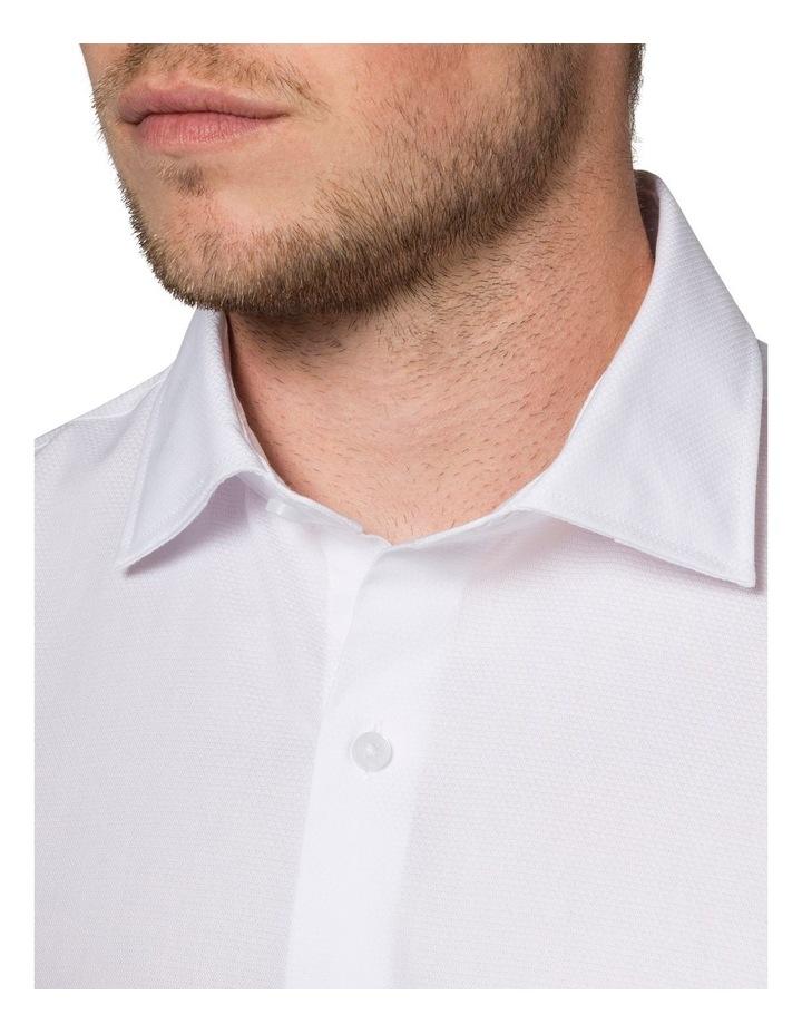 Self Jacquard Business Shirt image 3