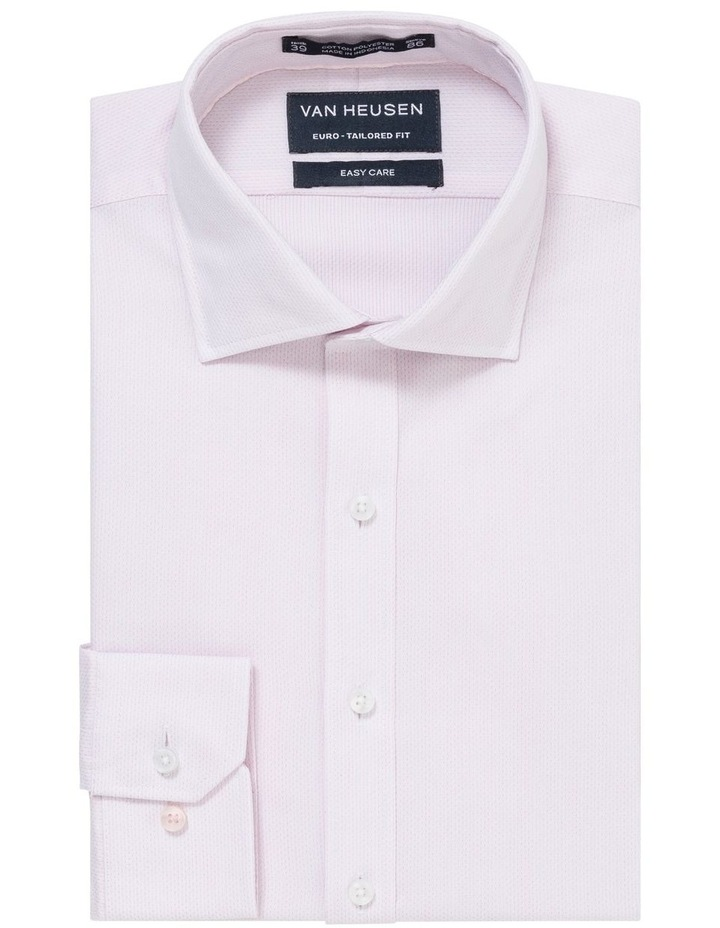 SELF DOBBY STRIPE BUSINESS SHIRT image 1