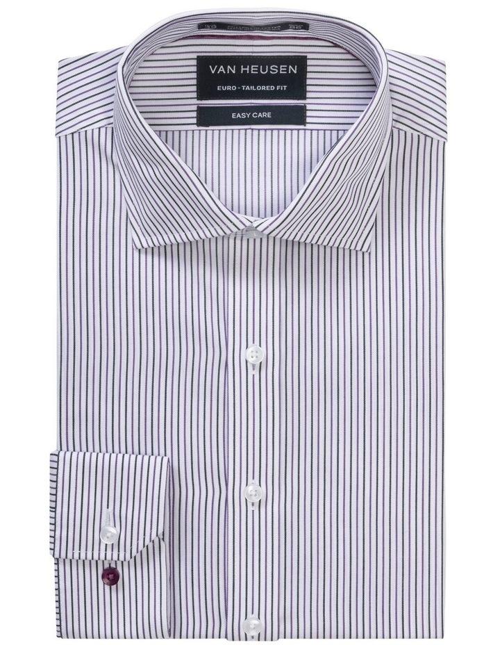 White Ground Stripe Business Shirt image 1
