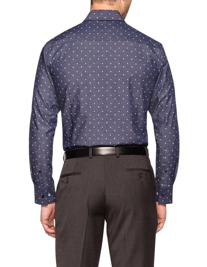 END ON END WITH TEARDROP OVERPRINT BUSINESS SHIRT image 2