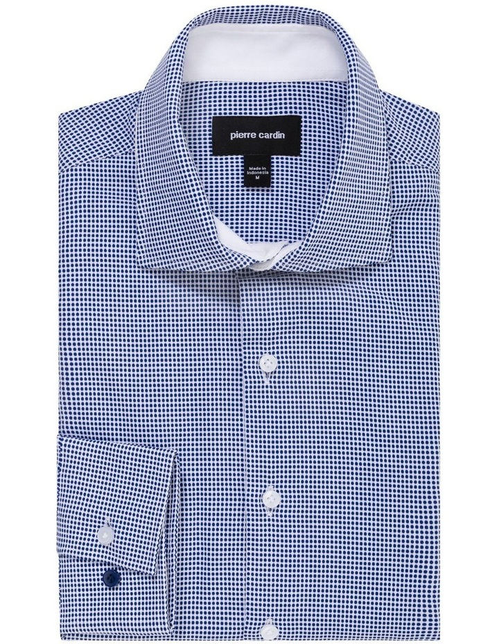 GEOMETRIC JACQUARD BUSINESS SHIRT image 1