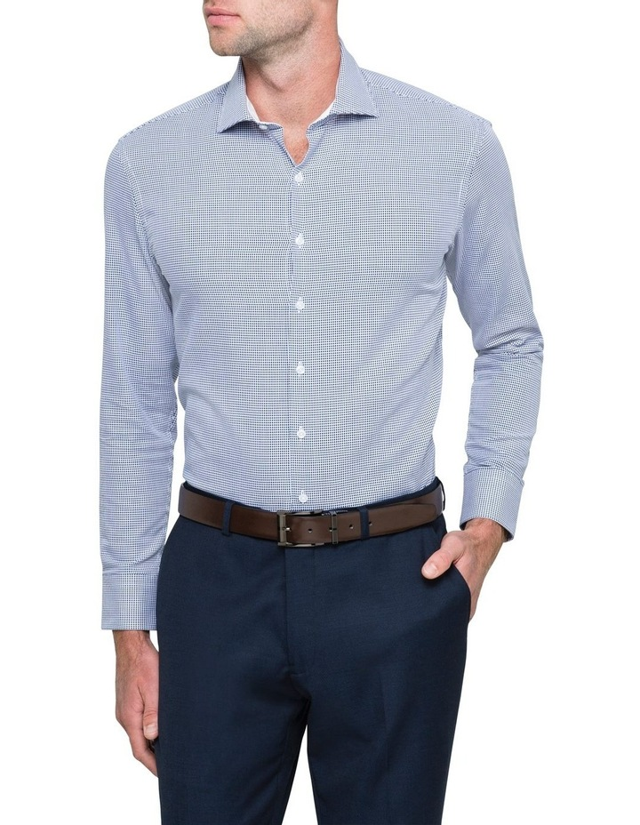 GEOMETRIC JACQUARD BUSINESS SHIRT image 2