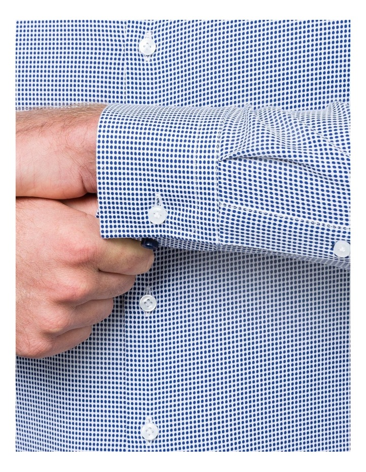 GEOMETRIC JACQUARD BUSINESS SHIRT image 4
