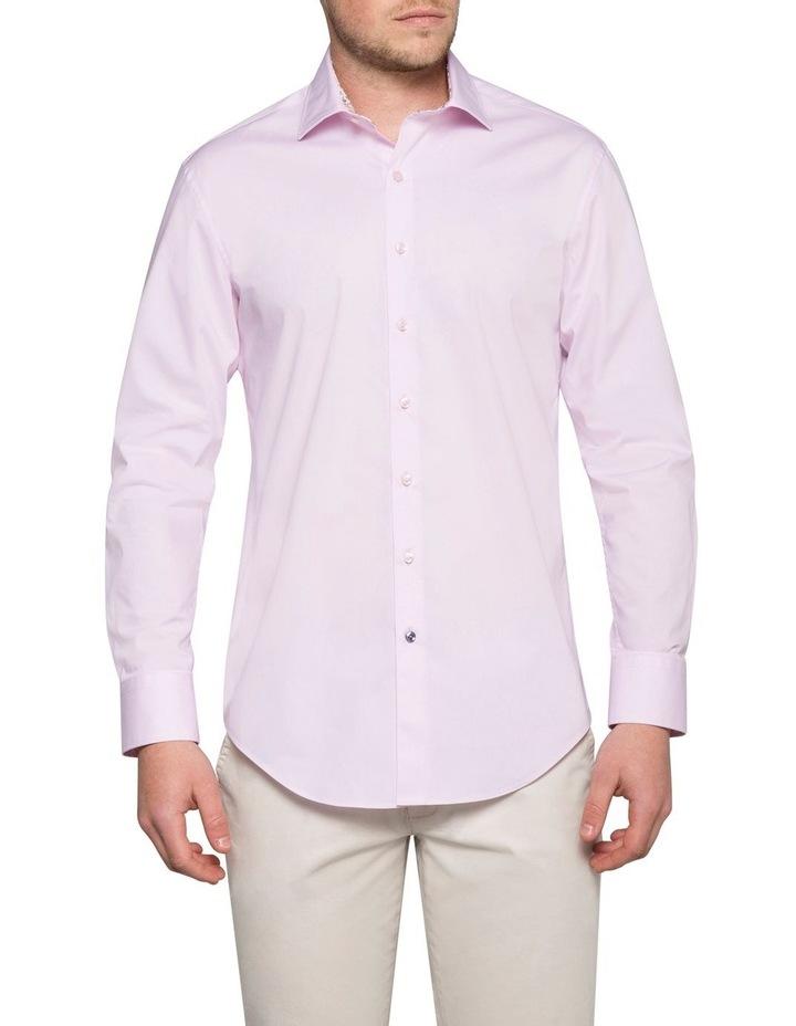 Stretch Plain Poplin Business Shirt image 1