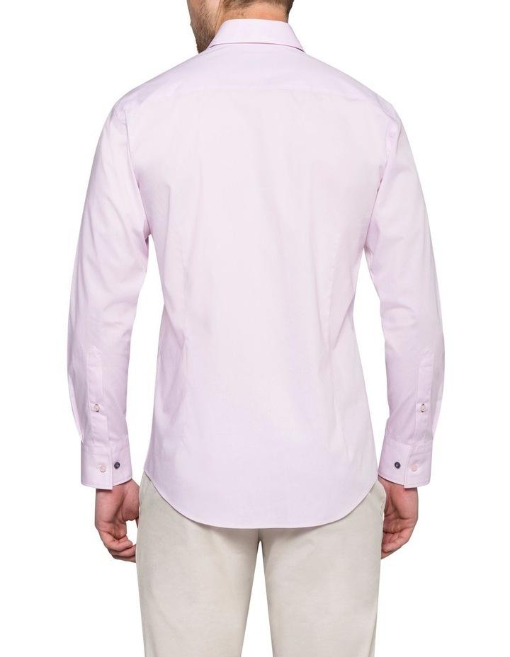 Stretch Plain Poplin Business Shirt image 2