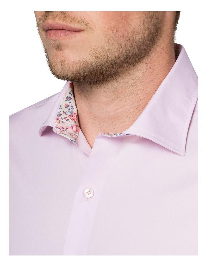 Stretch Plain Poplin Business Shirt image 3