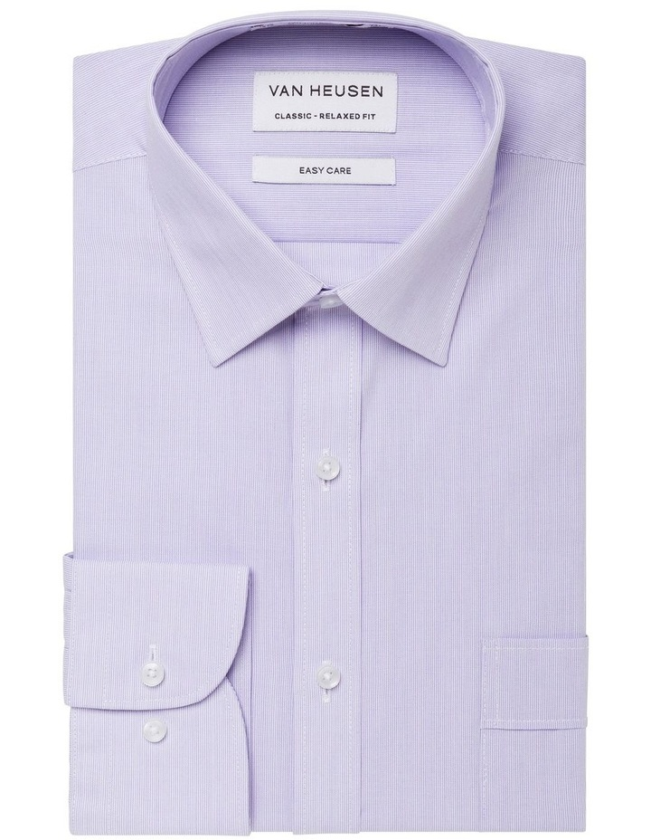 MICROSTRIPE BUSINESS SHIRT BLUE image 1